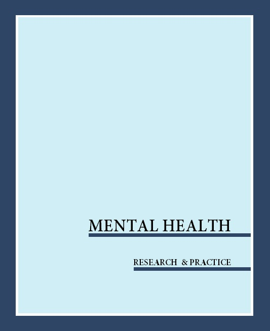 Mental Health: Research and Practice